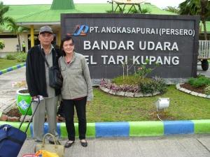 di bandara El Tari Kupang
